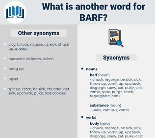 barf, synonym barf, another word for barf, words like barf, thesaurus barf