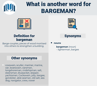 bargeman, synonym bargeman, another word for bargeman, words like bargeman, thesaurus bargeman