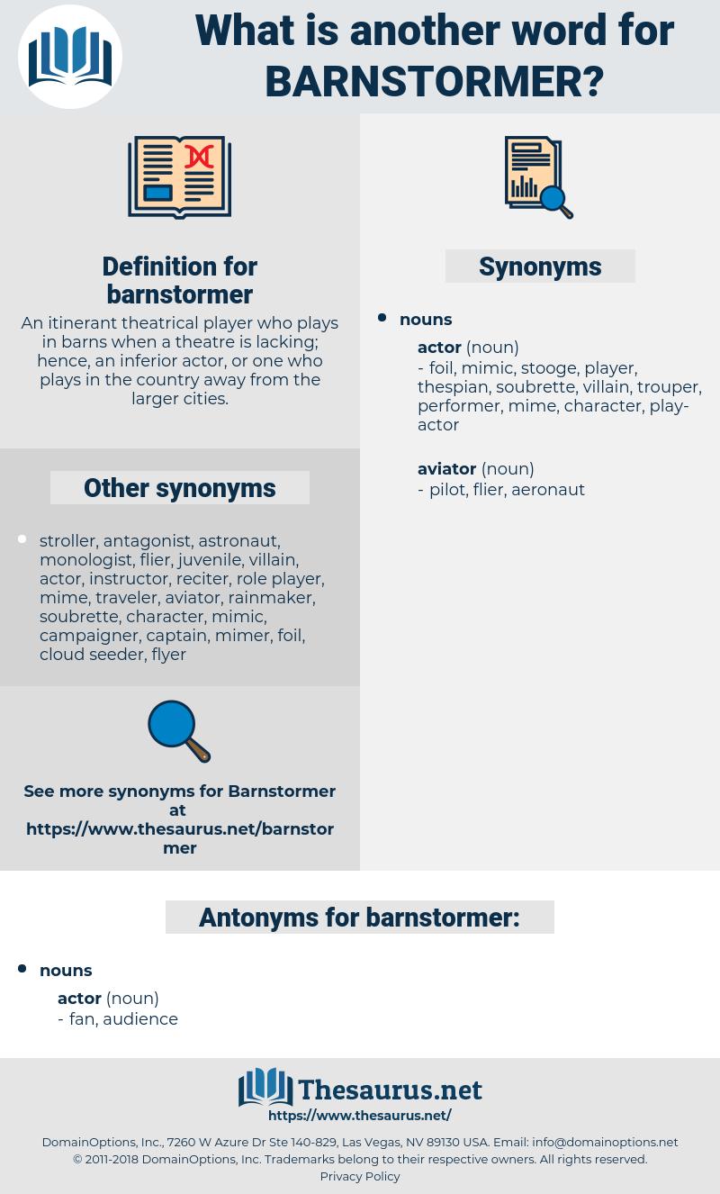 barnstormer, synonym barnstormer, another word for barnstormer, words like barnstormer, thesaurus barnstormer