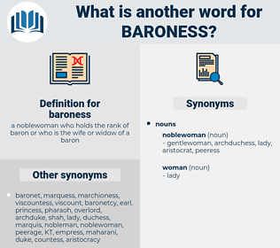 baroness, synonym baroness, another word for baroness, words like baroness, thesaurus baroness