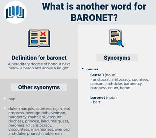 baronet, synonym baronet, another word for baronet, words like baronet, thesaurus baronet