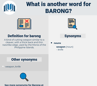 barong, synonym barong, another word for barong, words like barong, thesaurus barong