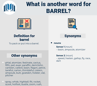 barrel, synonym barrel, another word for barrel, words like barrel, thesaurus barrel