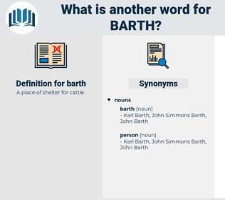 barth, synonym barth, another word for barth, words like barth, thesaurus barth