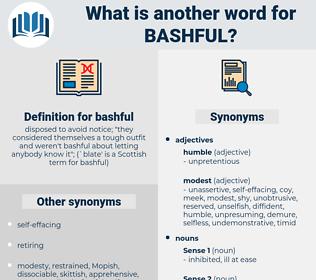 bashful, synonym bashful, another word for bashful, words like bashful, thesaurus bashful