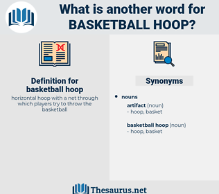 basketball hoop, synonym basketball hoop, another word for basketball hoop, words like basketball hoop, thesaurus basketball hoop