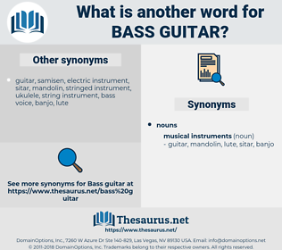 bass guitar, synonym bass guitar, another word for bass guitar, words like bass guitar, thesaurus bass guitar