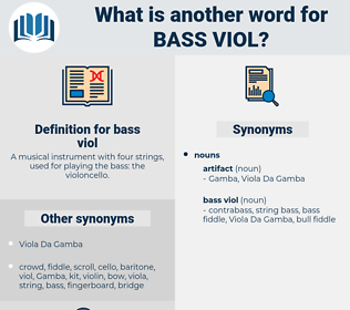 bass viol, synonym bass viol, another word for bass viol, words like bass viol, thesaurus bass viol