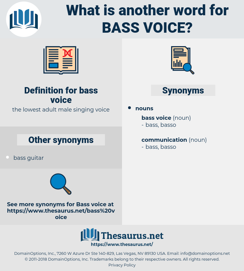 bass voice, synonym bass voice, another word for bass voice, words like bass voice, thesaurus bass voice