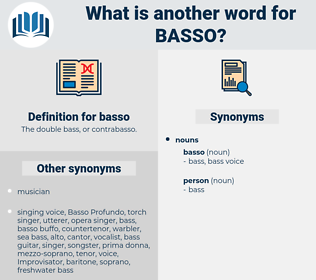 basso, synonym basso, another word for basso, words like basso, thesaurus basso