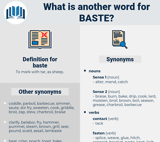 baste, synonym baste, another word for baste, words like baste, thesaurus baste