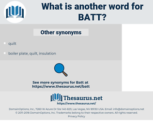 BATT, synonym BATT, another word for BATT, words like BATT, thesaurus BATT