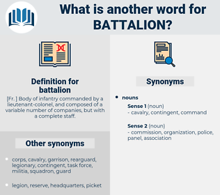 battalion, synonym battalion, another word for battalion, words like battalion, thesaurus battalion