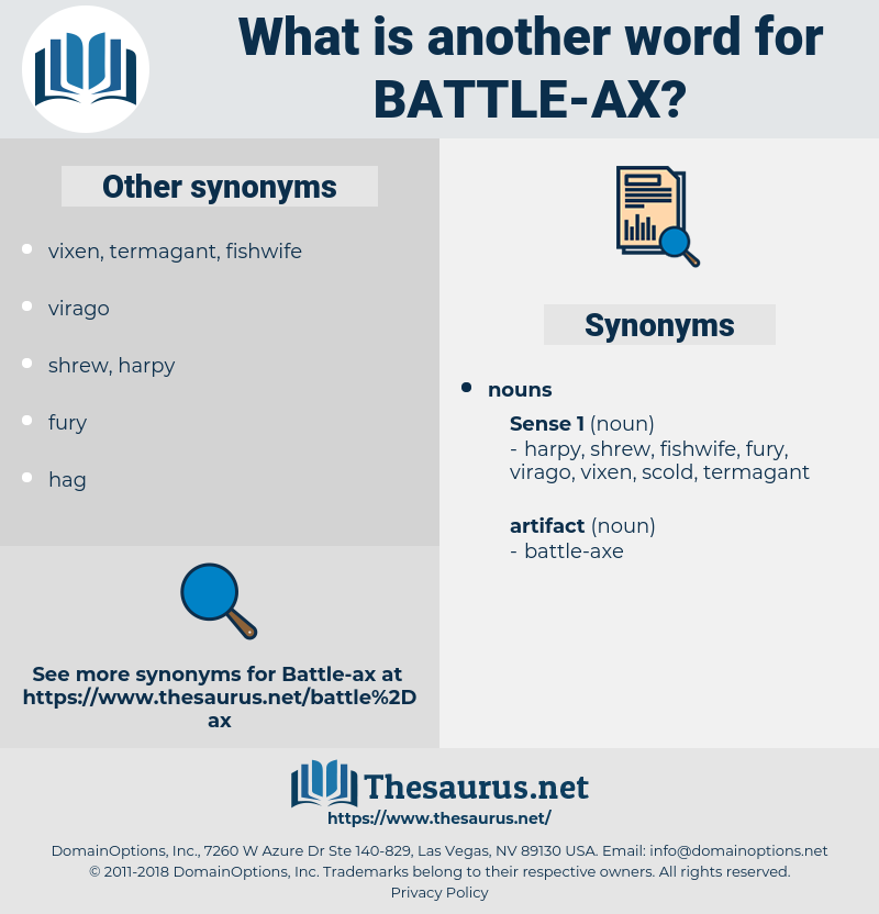 battle-ax, synonym battle-ax, another word for battle-ax, words like battle-ax, thesaurus battle-ax