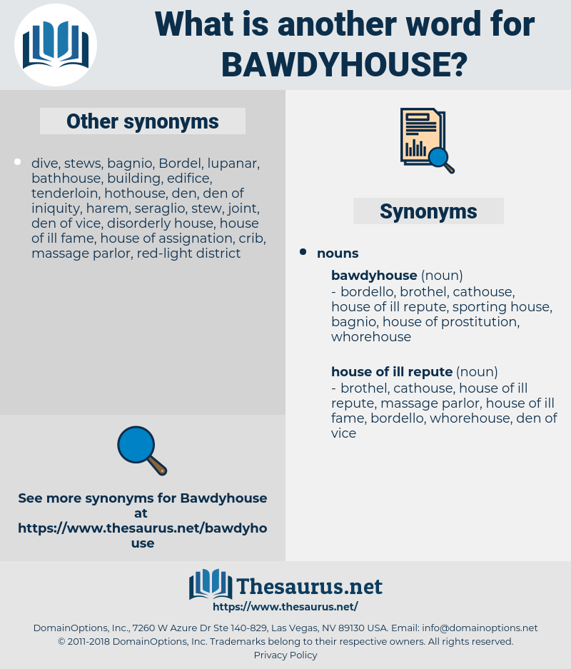 bawdyhouse, synonym bawdyhouse, another word for bawdyhouse, words like bawdyhouse, thesaurus bawdyhouse
