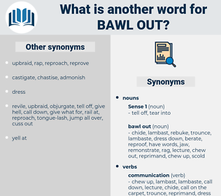bawl out, synonym bawl out, another word for bawl out, words like bawl out, thesaurus bawl out