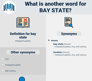 bay state, synonym bay state, another word for bay state, words like bay state, thesaurus bay state