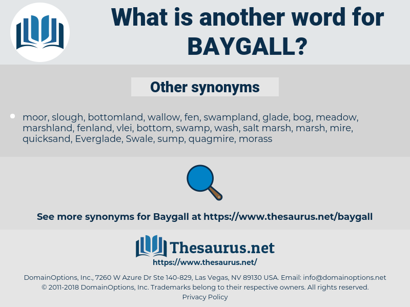 baygall, synonym baygall, another word for baygall, words like baygall, thesaurus baygall