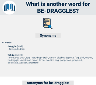 be-draggles, synonym be-draggles, another word for be-draggles, words like be-draggles, thesaurus be-draggles