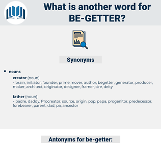 be getter, synonym be getter, another word for be getter, words like be getter, thesaurus be getter