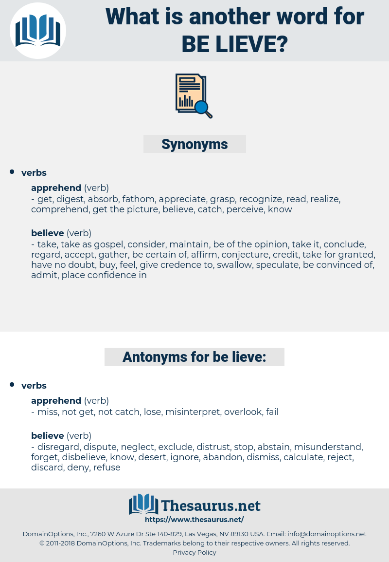 be lieve, synonym be lieve, another word for be lieve, words like be lieve, thesaurus be lieve