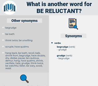 be reluctant, synonym be reluctant, another word for be reluctant, words like be reluctant, thesaurus be reluctant
