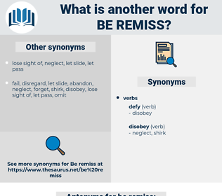 be remiss, synonym be remiss, another word for be remiss, words like be remiss, thesaurus be remiss