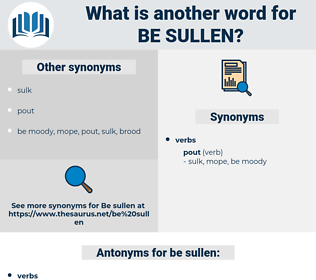 be sullen, synonym be sullen, another word for be sullen, words like be sullen, thesaurus be sullen