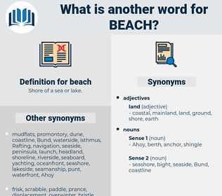 beach, synonym beach, another word for beach, words like beach, thesaurus beach