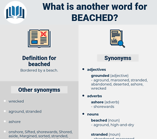 beached, synonym beached, another word for beached, words like beached, thesaurus beached