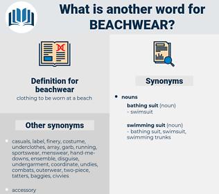 beachwear, synonym beachwear, another word for beachwear, words like beachwear, thesaurus beachwear