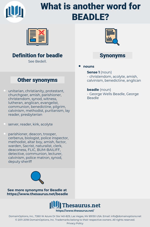 beadle, synonym beadle, another word for beadle, words like beadle, thesaurus beadle