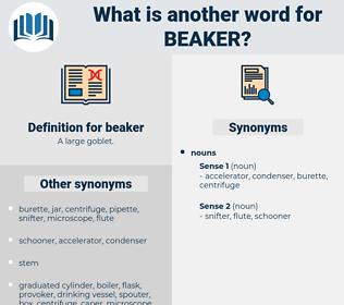 beaker, synonym beaker, another word for beaker, words like beaker, thesaurus beaker