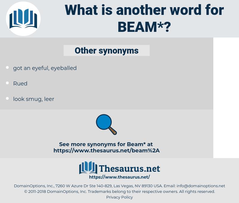 beam, synonym beam, another word for beam, words like beam, thesaurus beam