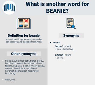 beanie, synonym beanie, another word for beanie, words like beanie, thesaurus beanie