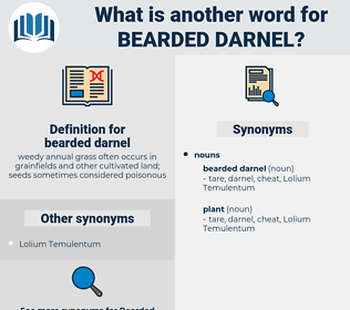bearded darnel, synonym bearded darnel, another word for bearded darnel, words like bearded darnel, thesaurus bearded darnel