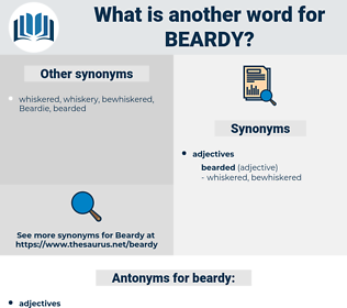 beardy, synonym beardy, another word for beardy, words like beardy, thesaurus beardy