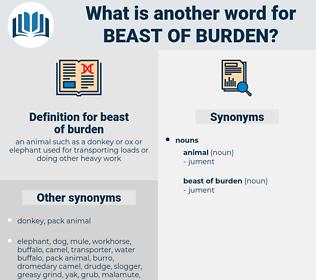 beast of burden, synonym beast of burden, another word for beast of burden, words like beast of burden, thesaurus beast of burden