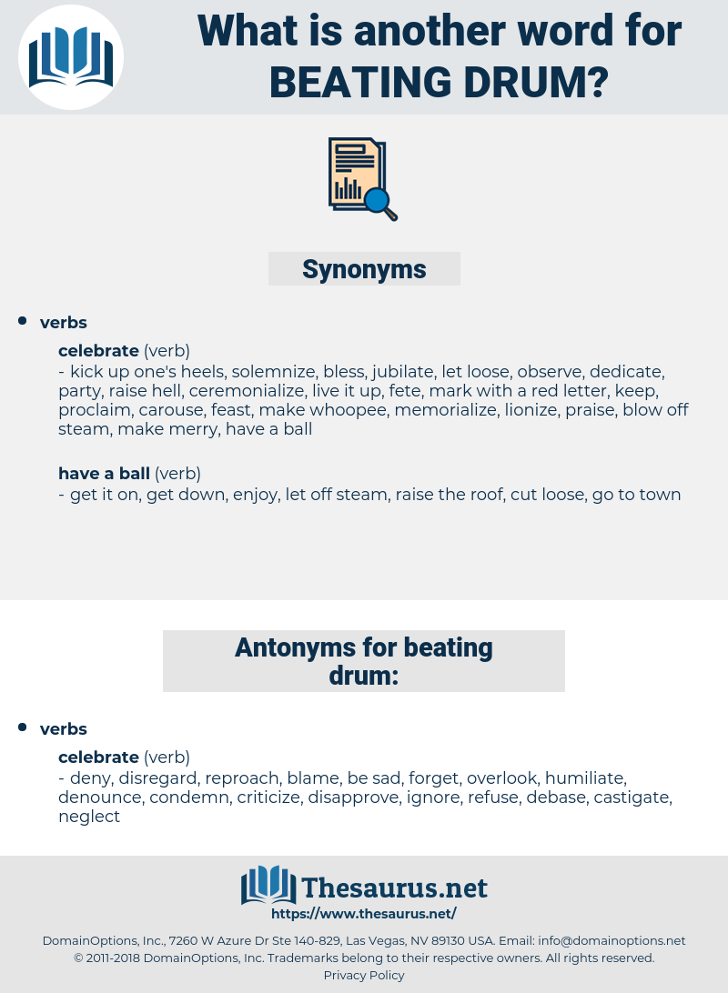 beating drum, synonym beating drum, another word for beating drum, words like beating drum, thesaurus beating drum