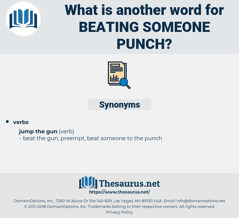 beating someone punch, synonym beating someone punch, another word for beating someone punch, words like beating someone punch, thesaurus beating someone punch