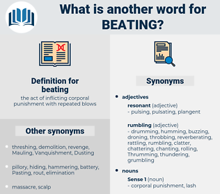beating, synonym beating, another word for beating, words like beating, thesaurus beating