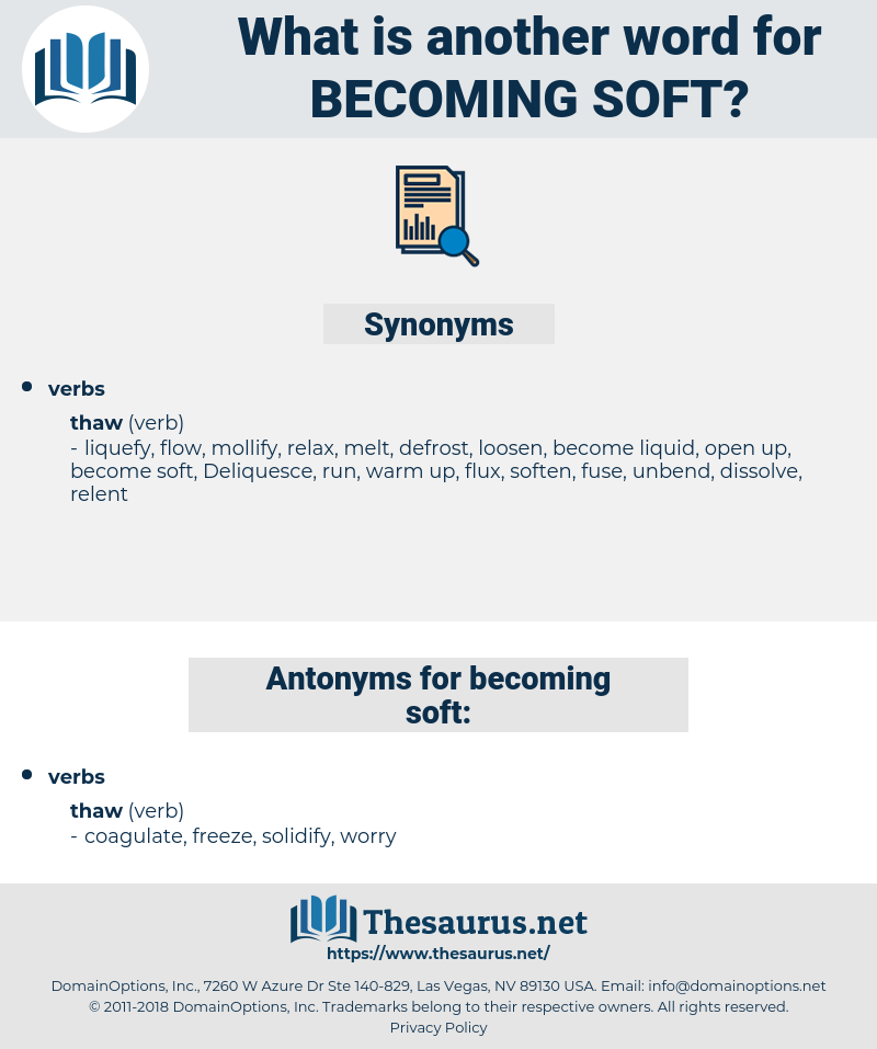 becoming soft, synonym becoming soft, another word for becoming soft, words like becoming soft, thesaurus becoming soft