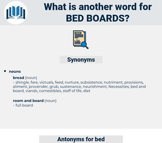bed boards, synonym bed boards, another word for bed boards, words like bed boards, thesaurus bed boards