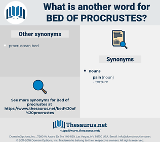 bed of Procrustes, synonym bed of Procrustes, another word for bed of Procrustes, words like bed of Procrustes, thesaurus bed of Procrustes