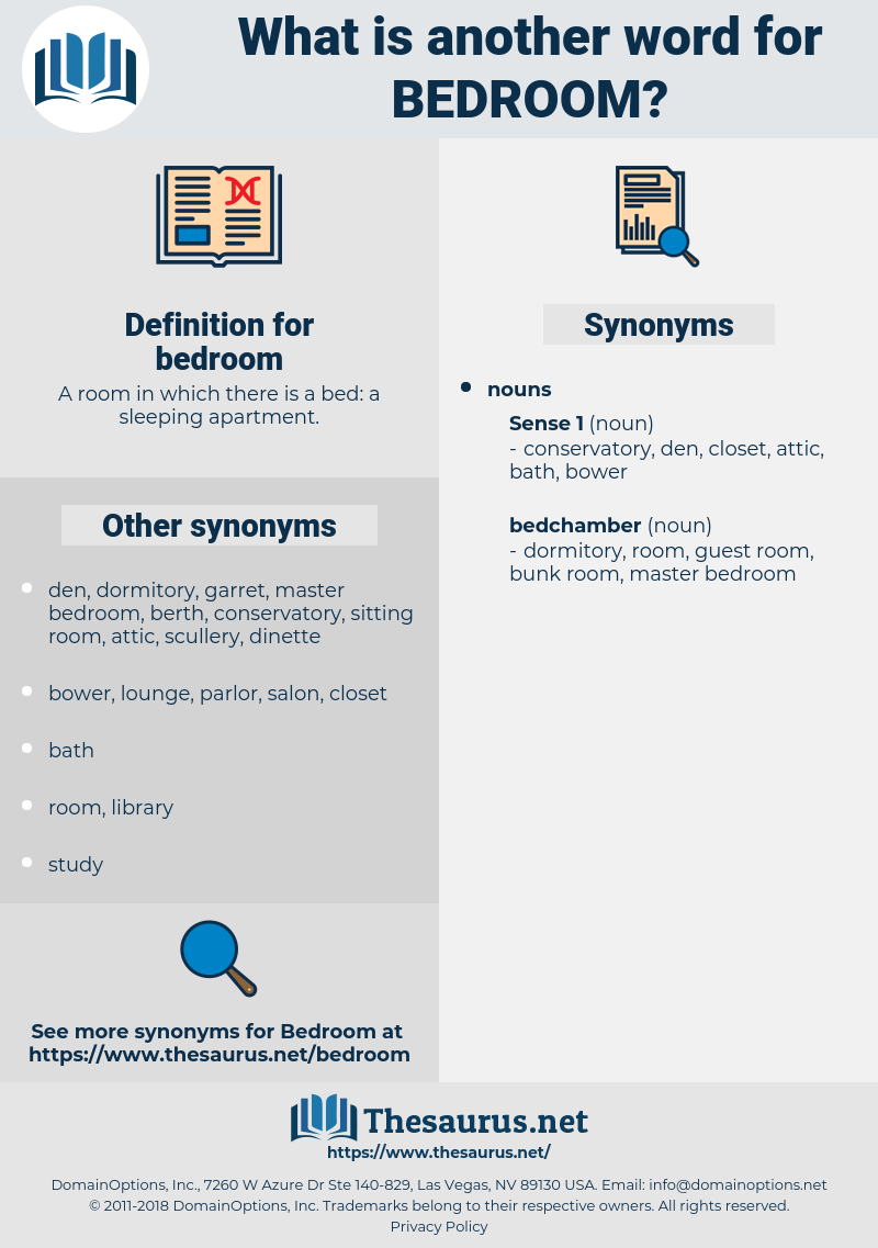 Synonyms For Bedroom Thesaurus Net