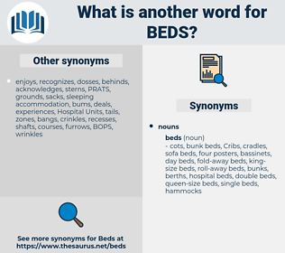 Beds, synonym Beds, another word for Beds, words like Beds, thesaurus Beds