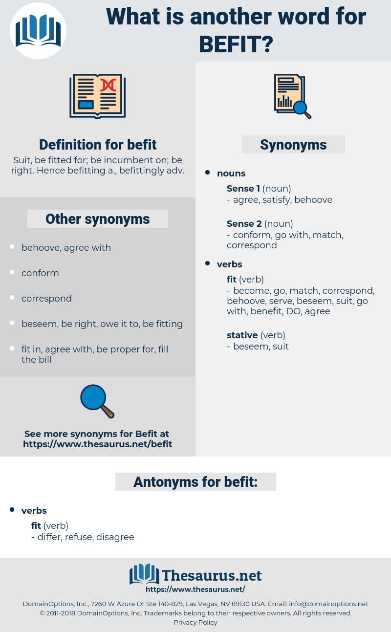 befit, synonym befit, another word for befit, words like befit, thesaurus befit