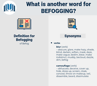 Befogging, synonym Befogging, another word for Befogging, words like Befogging, thesaurus Befogging