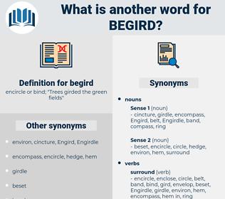 begird, synonym begird, another word for begird, words like begird, thesaurus begird