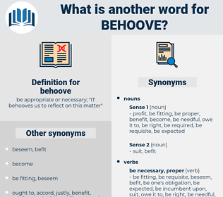 behoove, synonym behoove, another word for behoove, words like behoove, thesaurus behoove